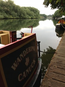 Wandering Canuck on the Thames at Reading