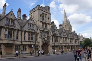Another Oxford college facade